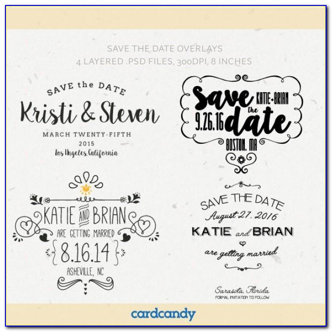 Digital Save The Date Templates
