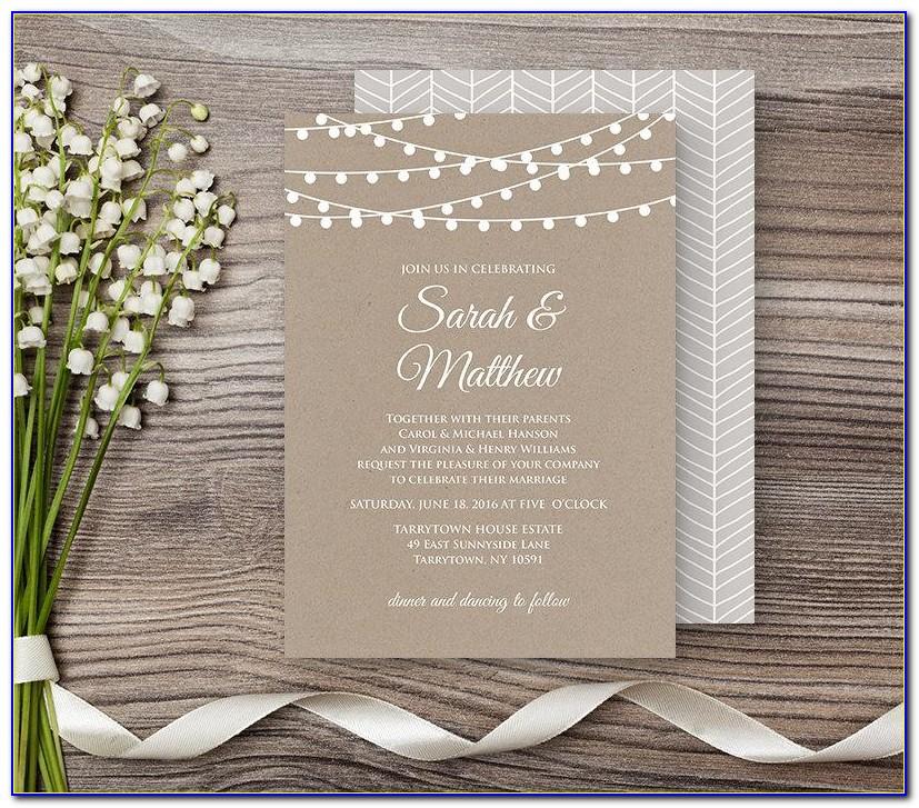 Digital Wedding Invitation Maker Free