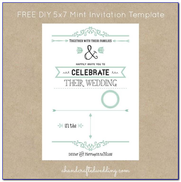 Digital Wedding Invitation Templates Free Download