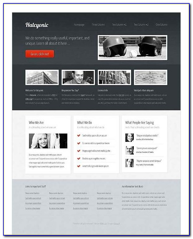 Top Free Corporate Dreamweaver Templates For Dreamweaver Newsletter Templates