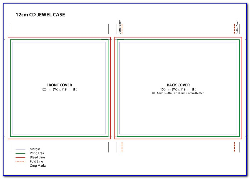 Dvd Jewel Case Insert Template