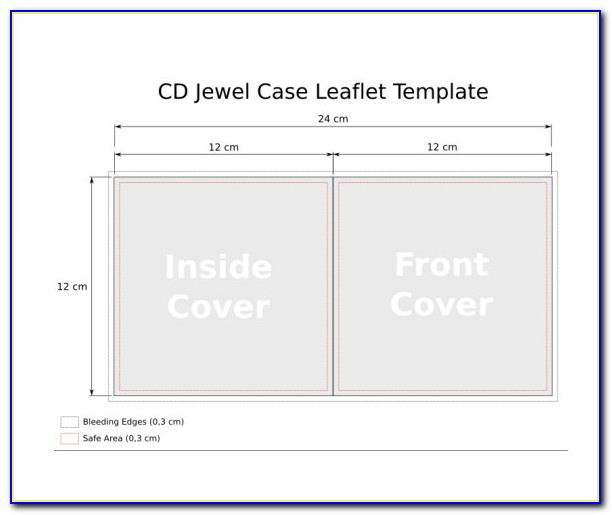Dvd Jewel Case Template Photoshop