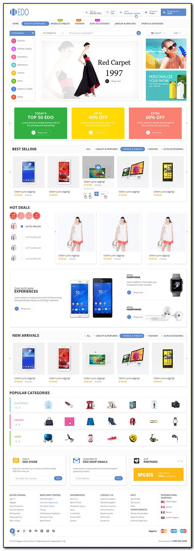 Ecommerce Website Templates Free Download Bootstrap