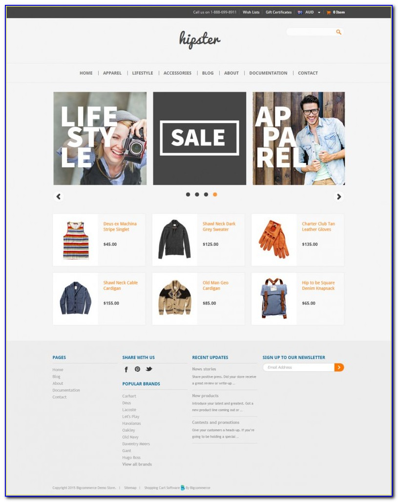 Ecommerce Website Templates Free Download Php