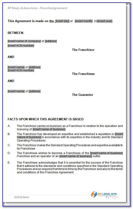 Employee Settlement Agreement Template
