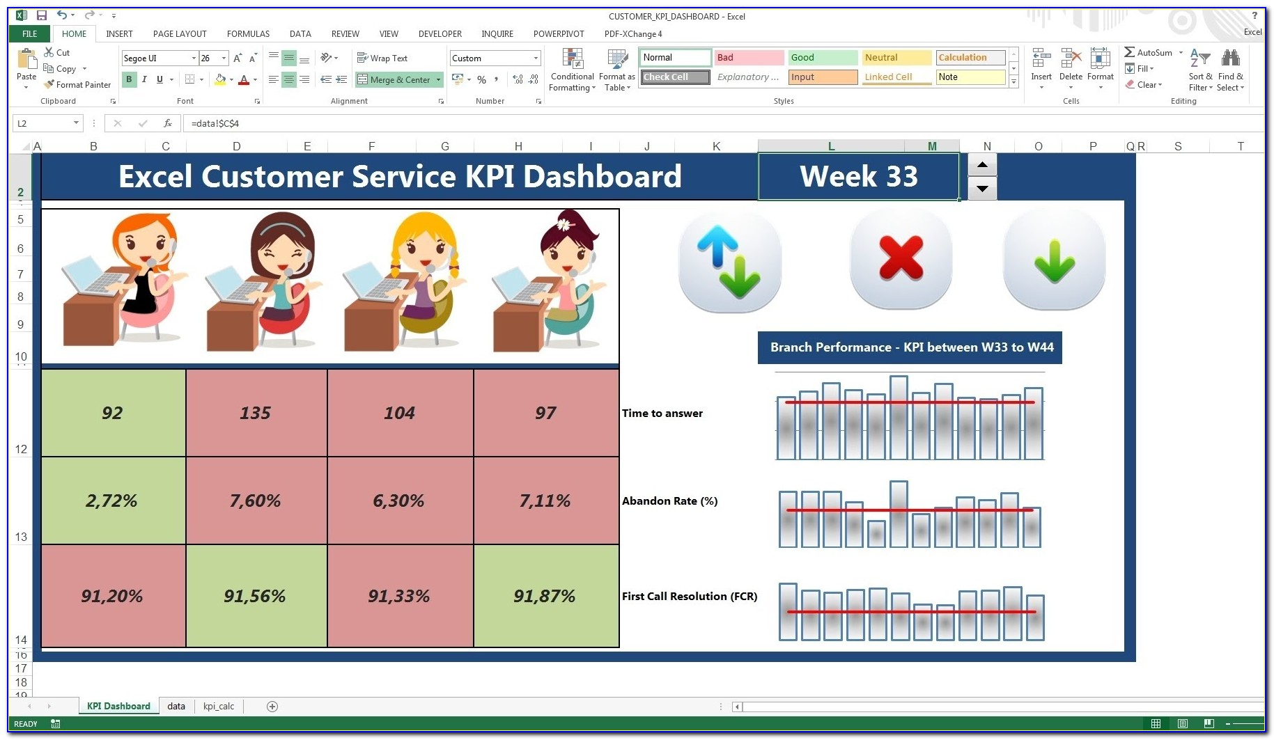 Excel Dashboard Template Example Files