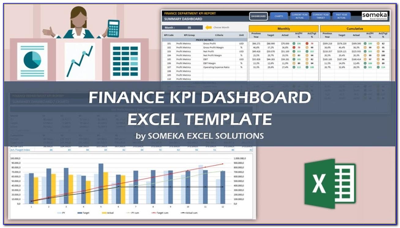 Financial Dashboard Sample