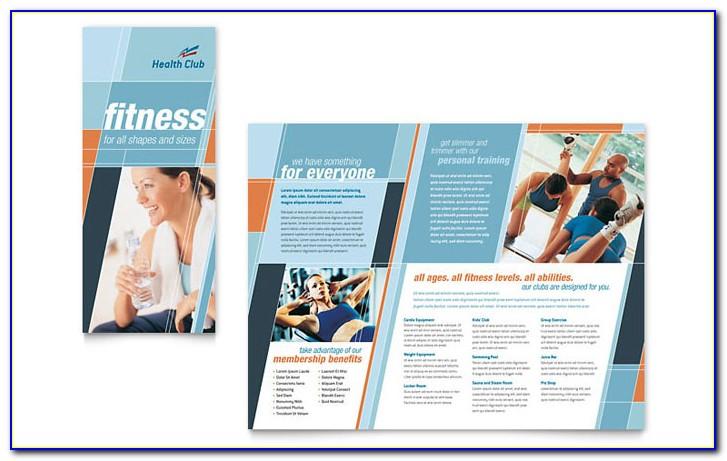Fitness Brochure Templates Free