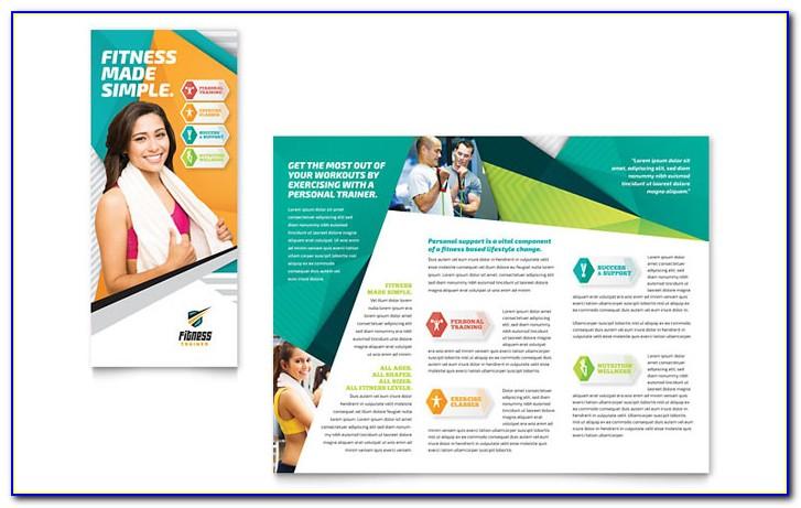 Fitness Center Brochure Templates