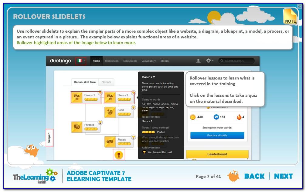 Free Adobe Captivate Elearning Templates