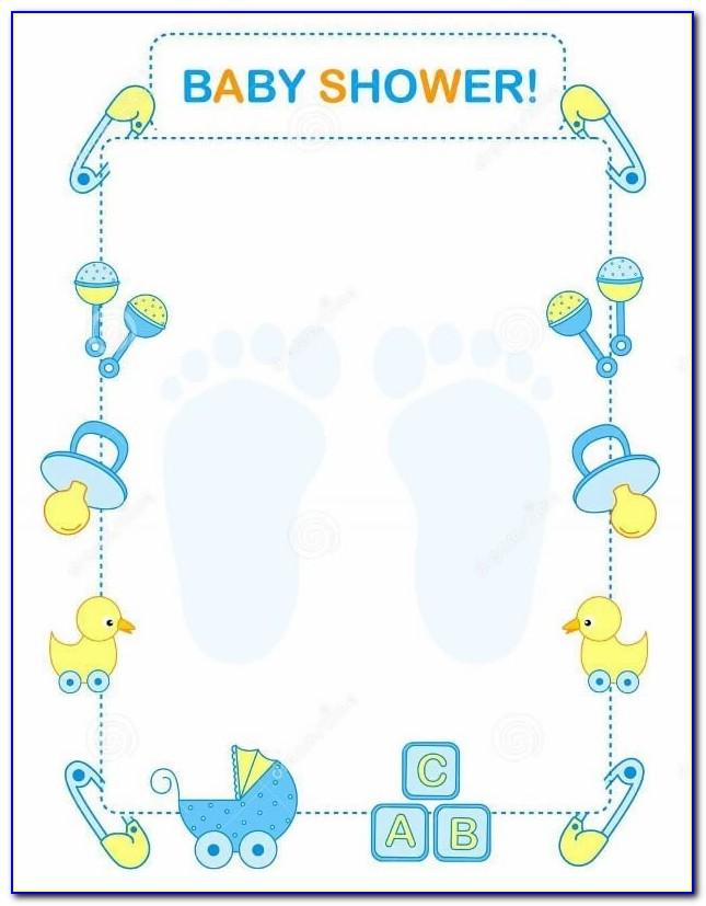 Free Baby Sprinkle Invitation Templates
