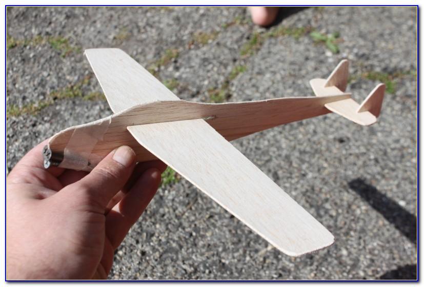 Free Balsa Wood Plane Template