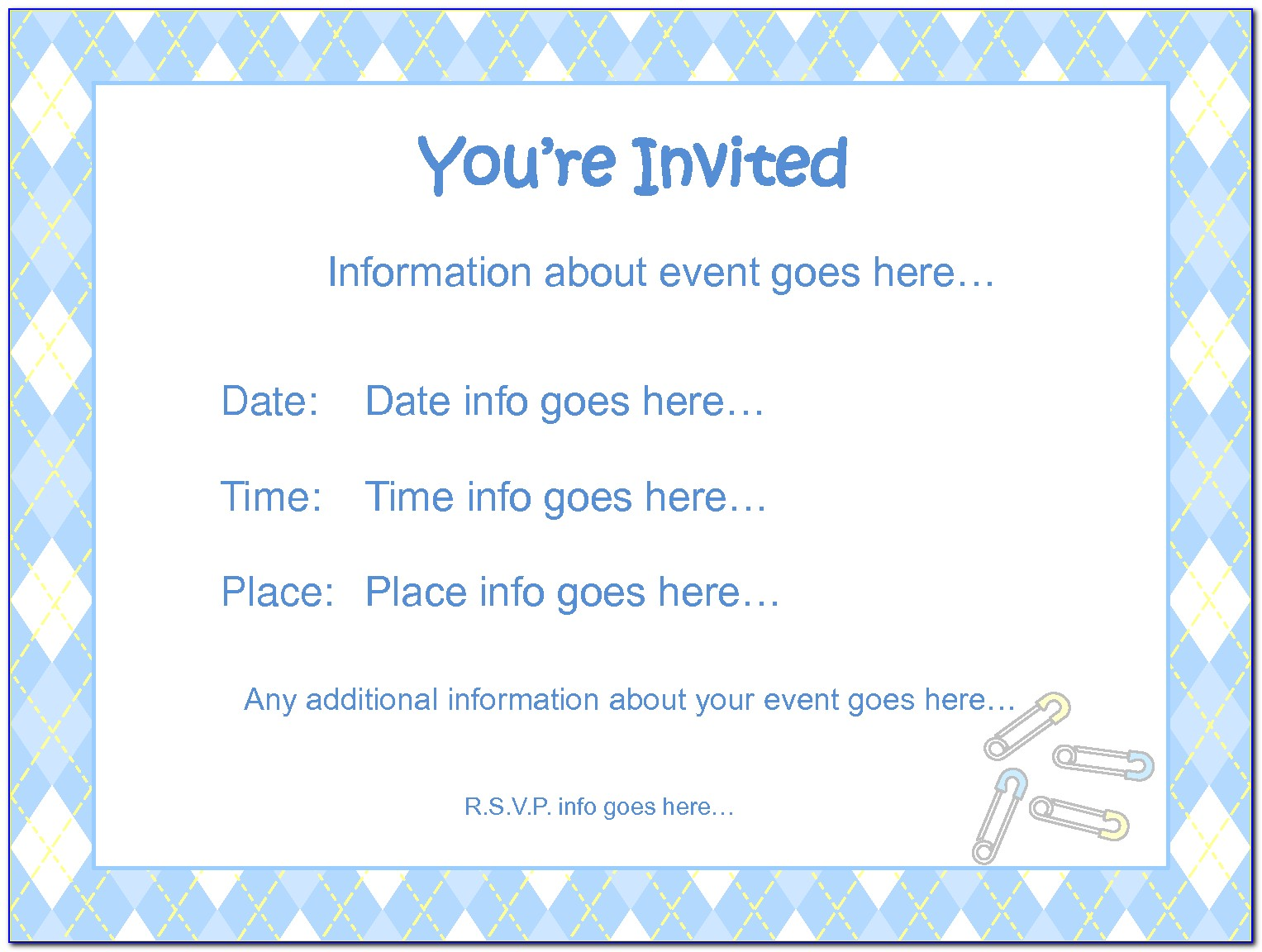 Free Boss Baby Invitation Template