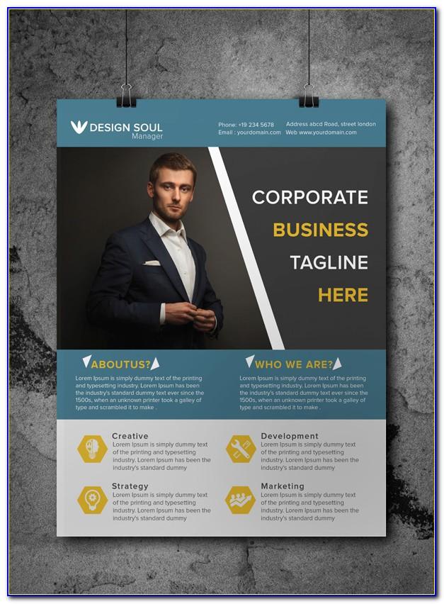Free Business Flyer Design Templates Photoshop