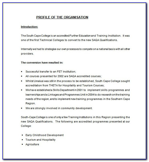 Free Business Funding Proposal Template