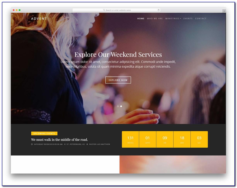 Free Church Web Templates