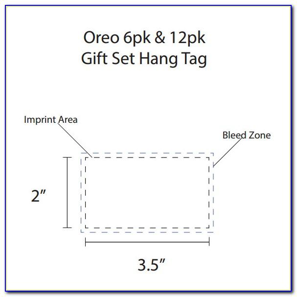 Free Clothing Hang Tag Template