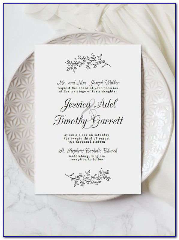 Free Digital Wedding Invitation Template