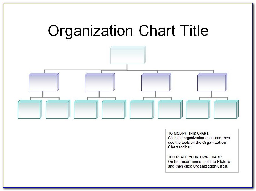 Free Download Organizational Chart Template In Excel