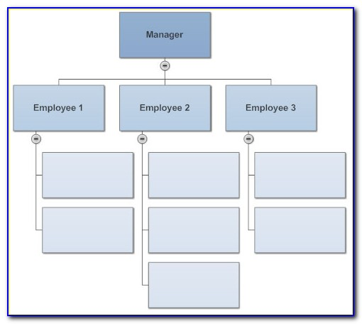 Free Easy Organizational Chart Template