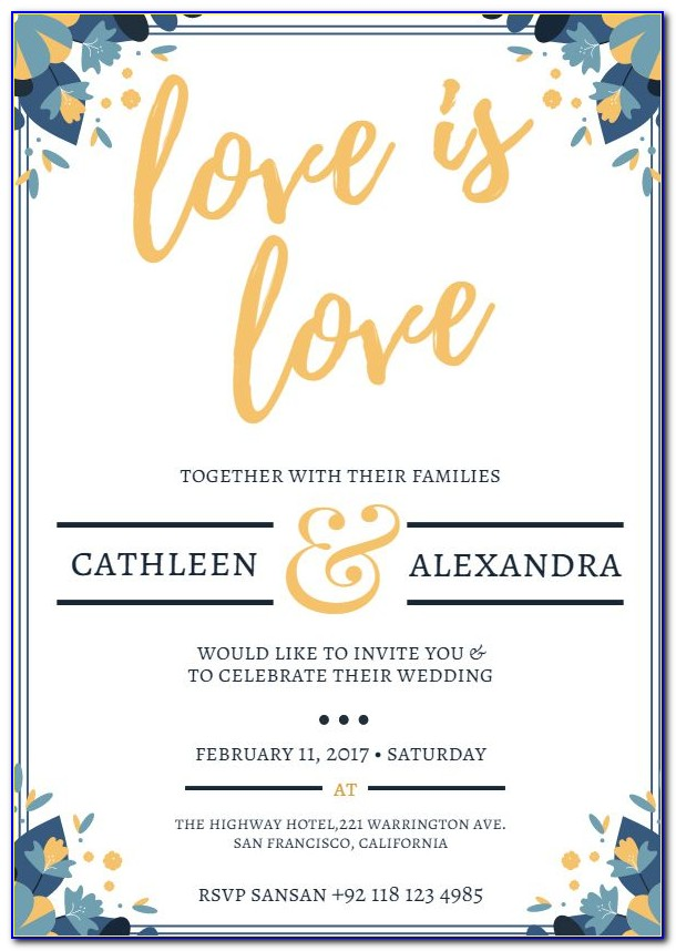 Free Editable Indian Wedding Invitation Templates