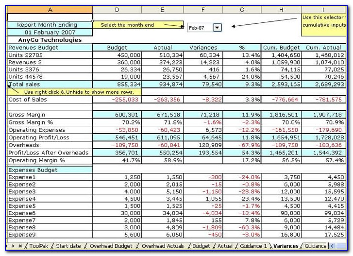 Free Excel Template Business Plan