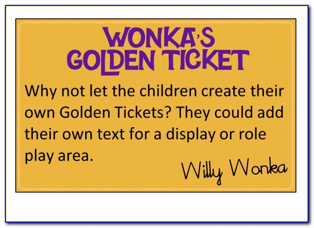 Pet Editable Golden Tickets Free Classroom Display Resource Example Printable Willy Wonka Golden Ticket Template New Pdf Word Excel Best Templates Rptoo
