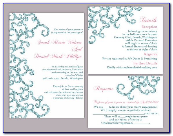 Free Indian Wedding Invitation Templates Online