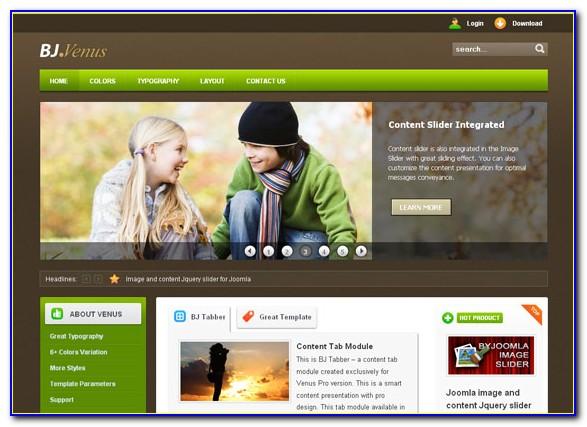 Free Joomla Ecommerce Website Templates