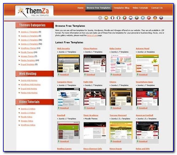 Free Joomla Full Website Templates