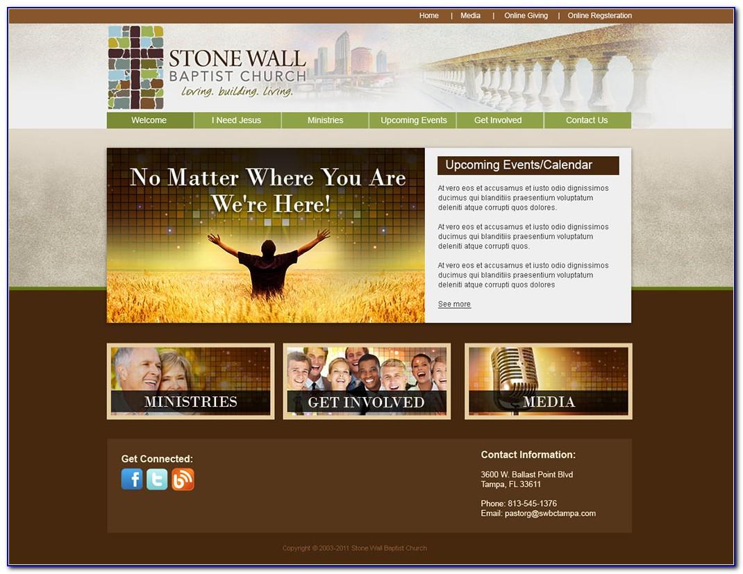Free Joomla Templates For Church Websites
