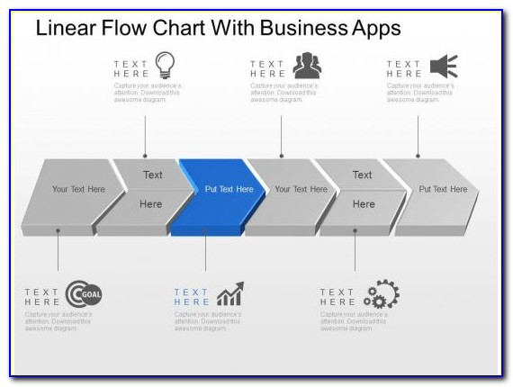 Free Linear Flow Chart Template