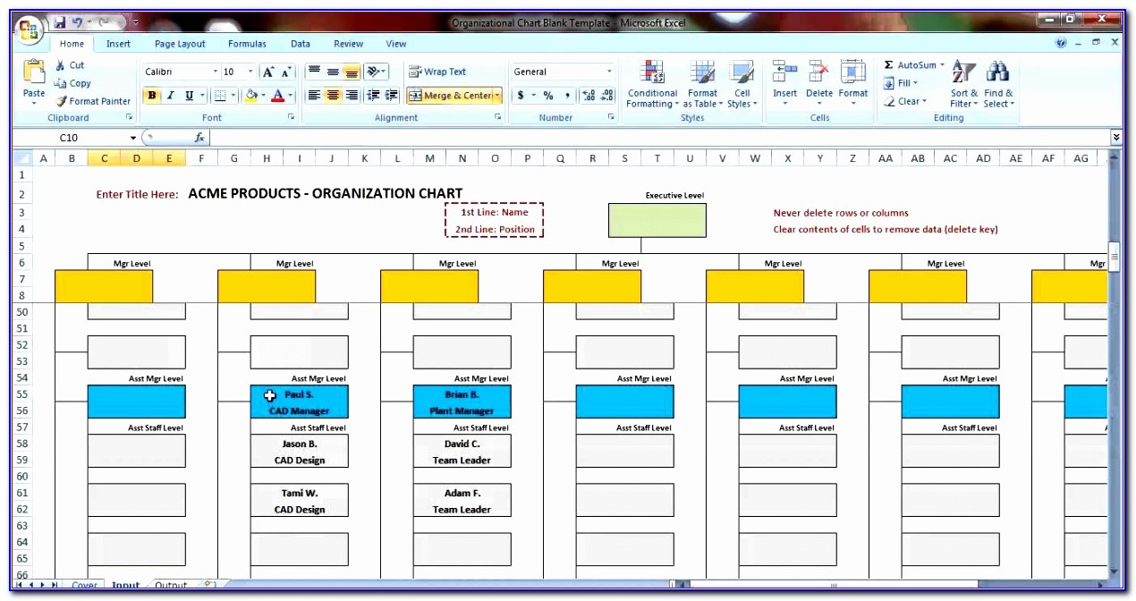 Excel Templates Organizational Chart Free Download Isgxs Beautiful Excel Organization Chart Template Demonstration