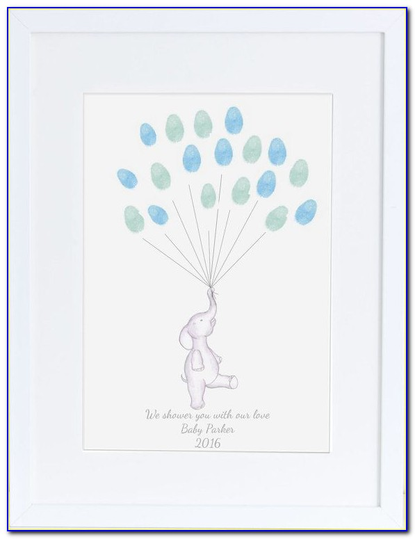 Free Printable Baby Shower Guest Book Template