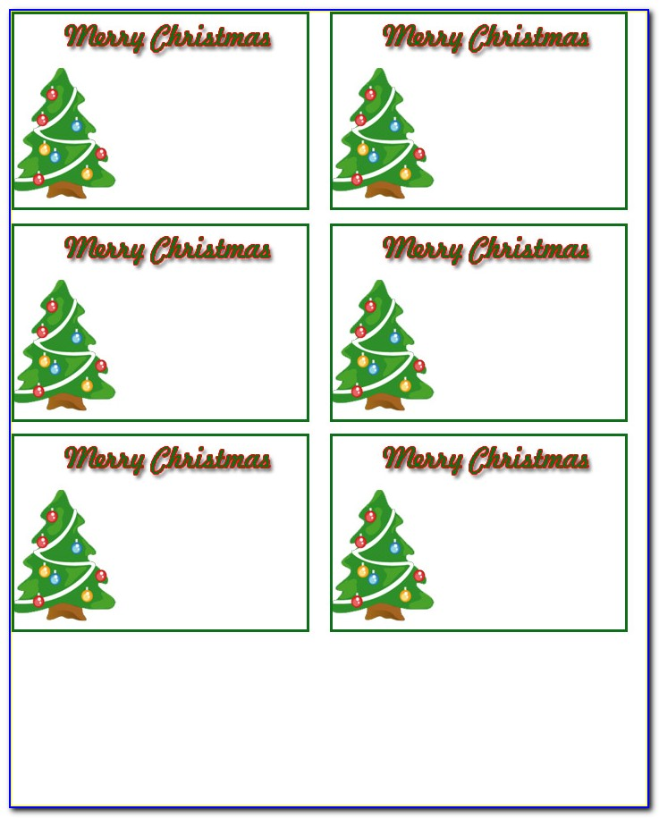 Free Printable Christmas Food Labels Templates