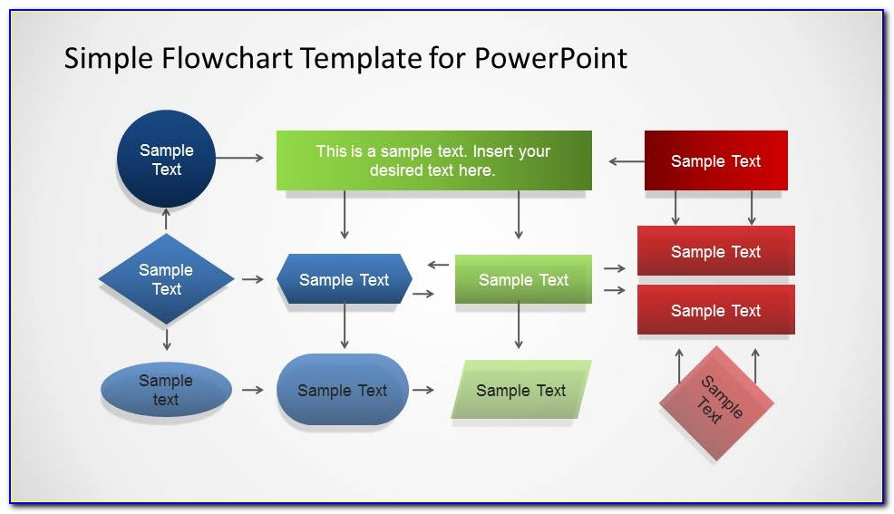 Free Process Flow Chart Template Powerpoint 2010