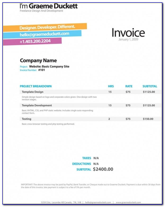 Apple Pages Invoice Template Ipad Invoicegenerator Invoice Template 1024 X 1298