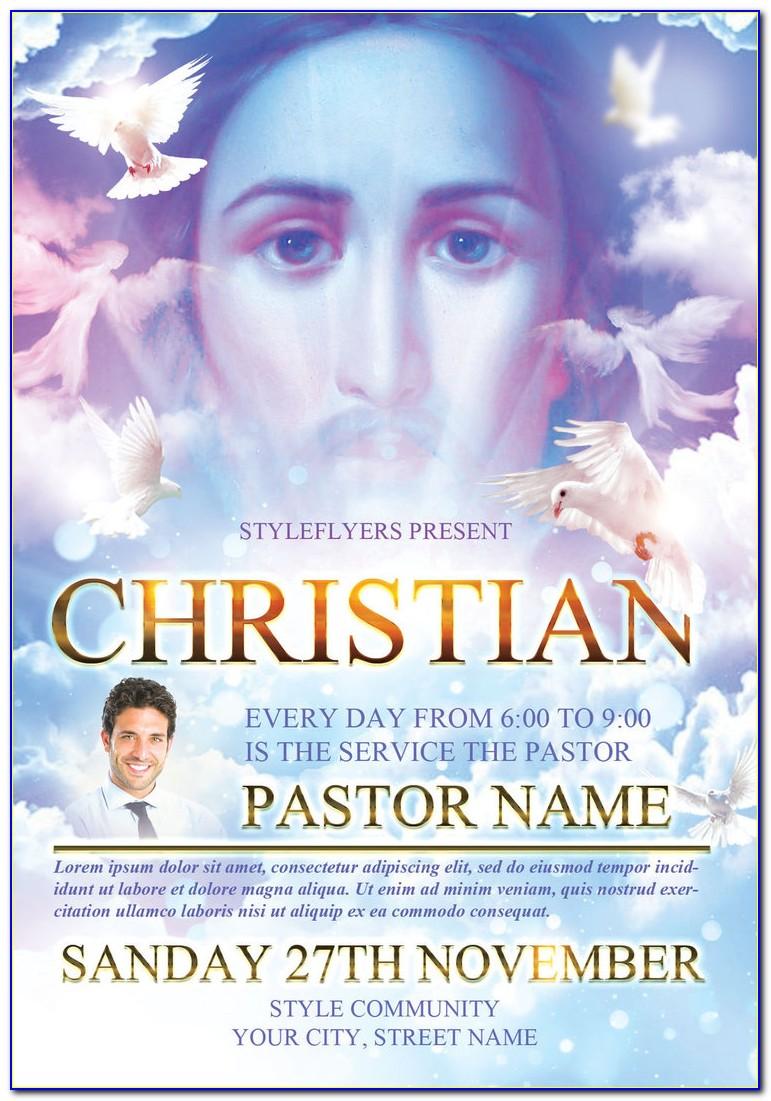 Free Religious Easter Flyer Templates