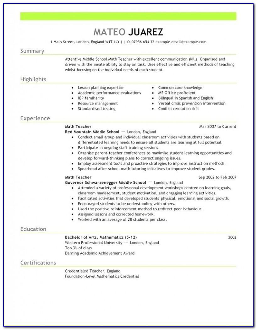 Free Resume Templates 2018 Australia | Free Resume Templates Free Resume Templates Australia
