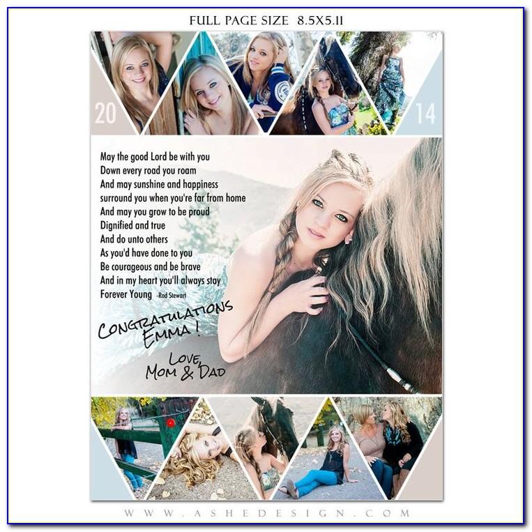 Free Senior Photo Collage Templates