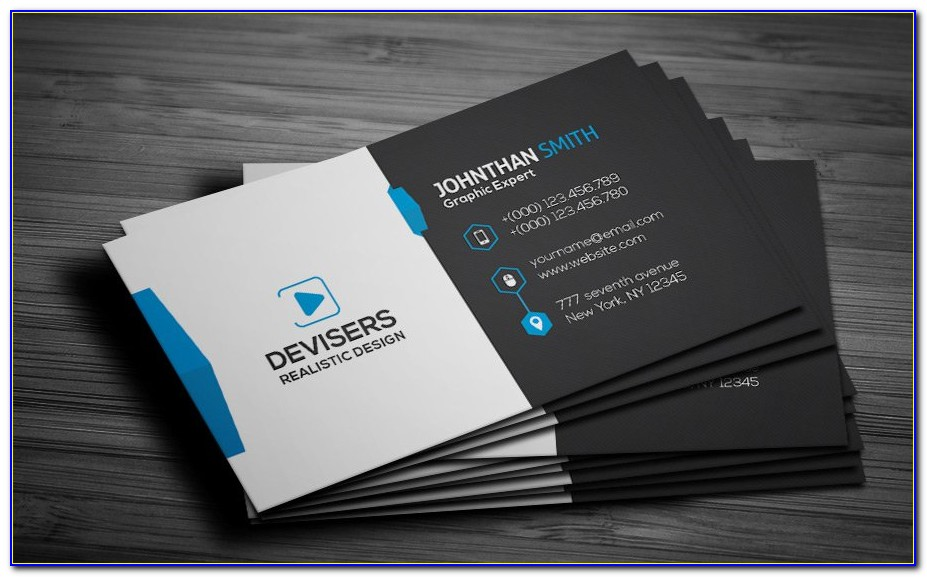 Free Visiting Card Templates For Coreldraw
