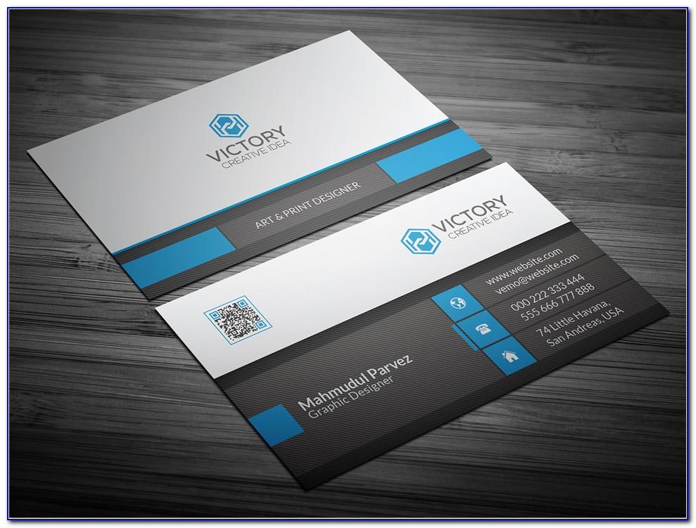 Free Visiting Card Templates Psd
