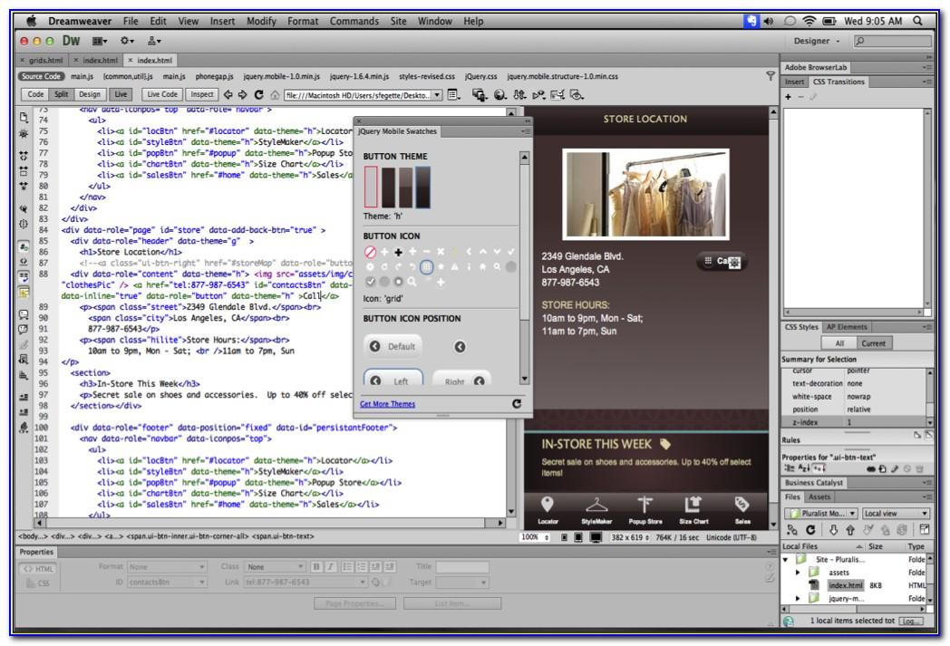 Free Website Templates For Dreamweaver Cs6