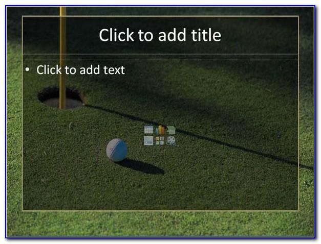 Golf Invitation Templates