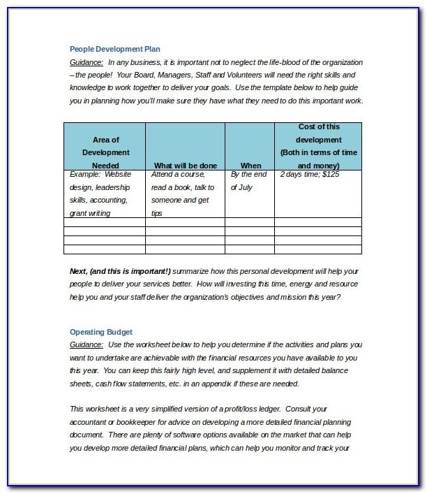 Growthink Business Plan Template Pdf