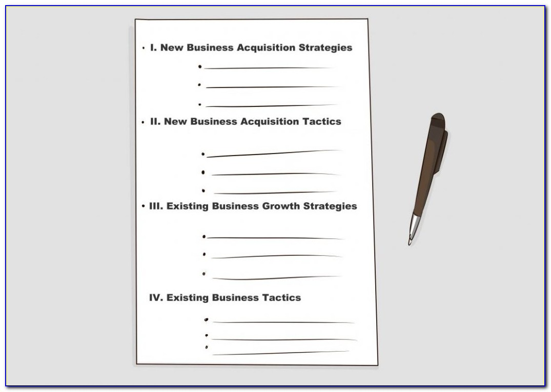 Growthink Nonprofit Business Plan Template