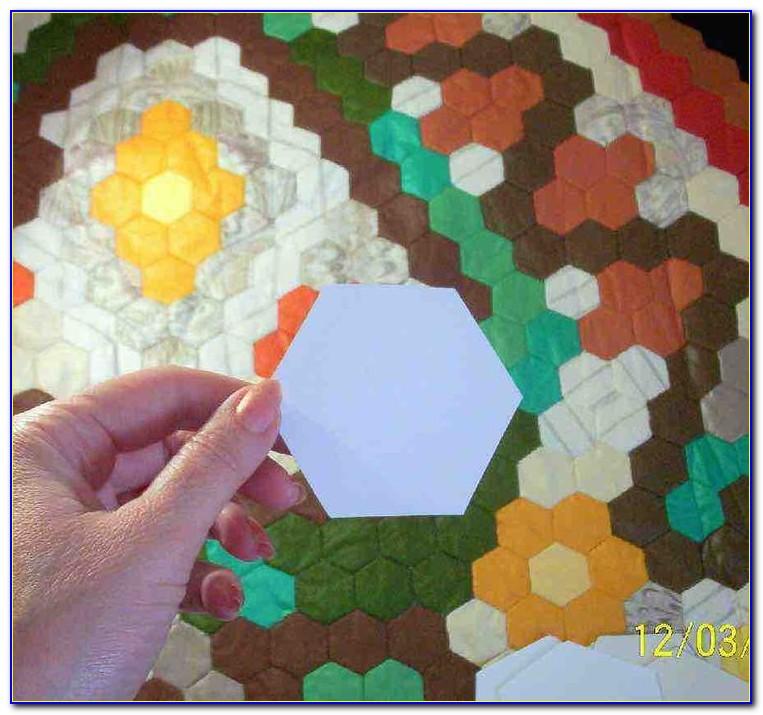 Hexagon Patchwork Templates Uk