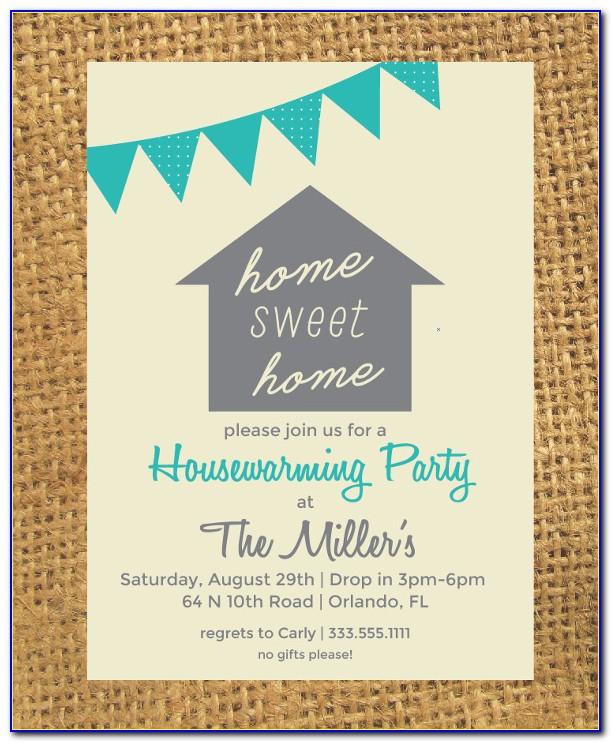House Warming Ceremony Invitation Format