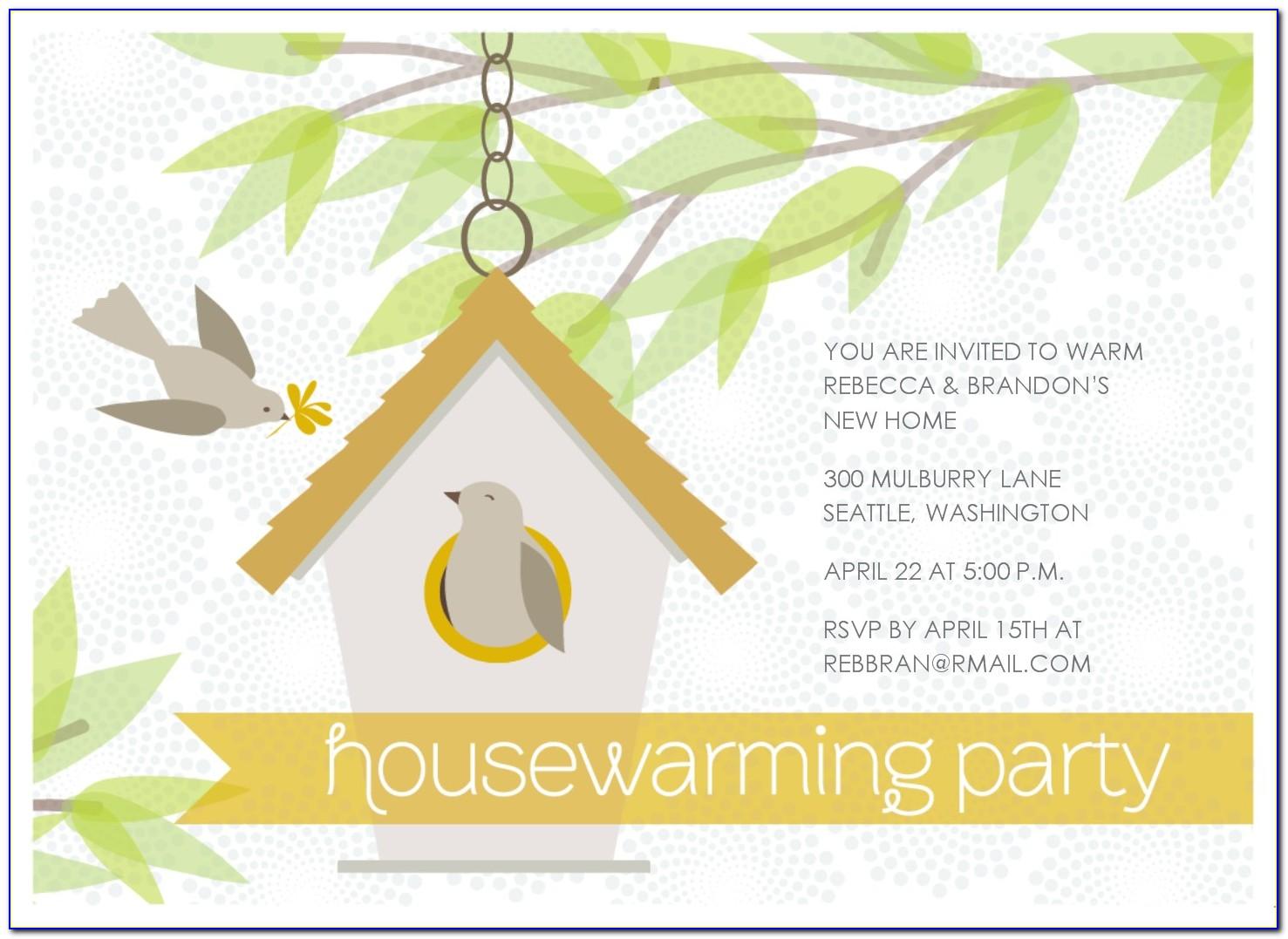 House Warming Ceremony Invitation Templates