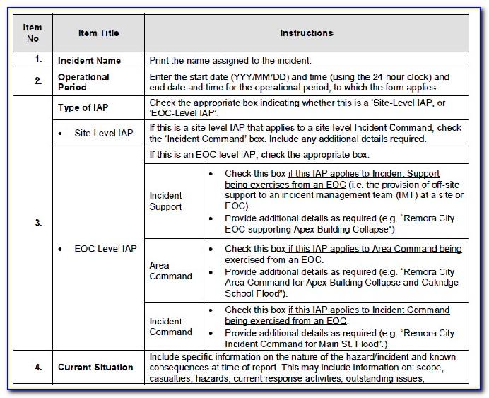 Incident Response Management Plan Template